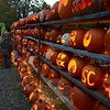 People saw this year's Great Pumpkin Challenge collection contributions lit up on Saturday, October 31. (Bobowick photo)