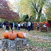 Collection hours for this year's Great Pumpkin Challenge were held on Friday, October 30. It was the second day of the collection ahead of Halloween, October 31. People dropped off pumpkins, donations, played games, and met with others during the afternoon and evening. (Hicks photo)