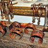Each copper bracelet from New Territory is made by hand, and no two are ever alike. (Crevier photo)