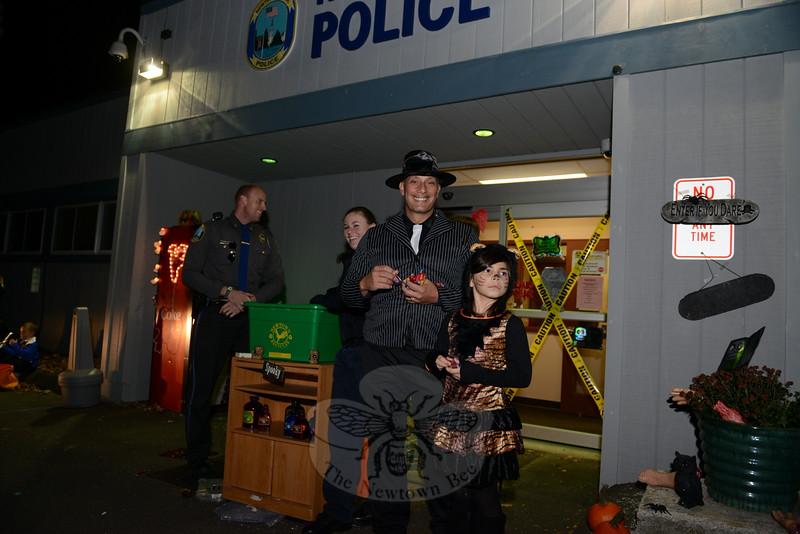 Halloween at 3 Main Street.  (Voket photo)