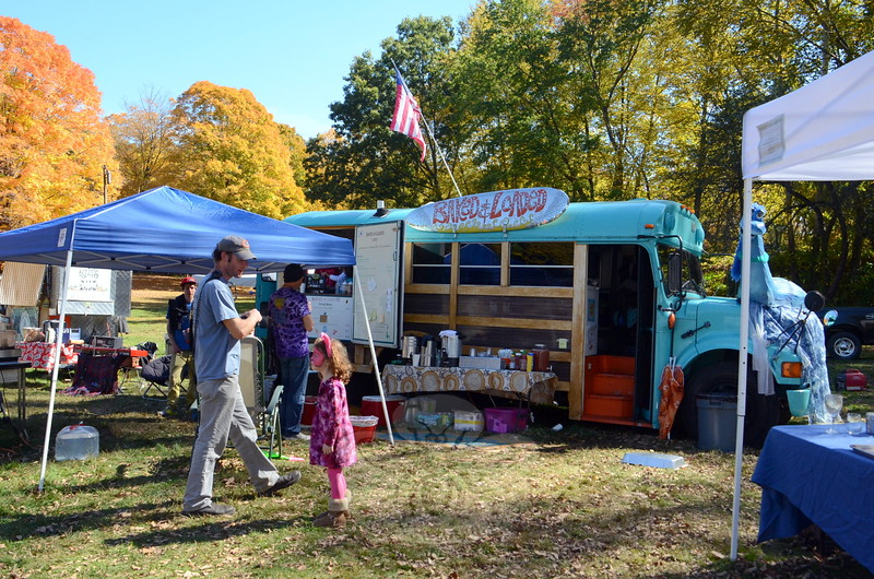 The operators of Baked & Loaded, along with other vendors on site for the 2015 Shuck 'N Jive Mountain Bike & Music Festival at McLaughlin Vineyards last weekend, reported steady business from both day visitors and campers who hunkered in for the weekend. (Voket photo)