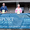 Organizers are hoping for a large crowd on Saturday, October 10, when Sandy Hook Organization for Prosperity (SHOP) presents its Fifth Annual Passport To Sandy Hook. From left is Event Chair Maribeth Hemingway, and SHOP members Joe Hemingway, Sharon Doherty, and Michael Burton. (Hicks photo)