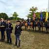 Knowing that the late state representative and longtime Newtowner was an animal lover and ardent supporter of the Second Company Governor's Horse Guard, the unit could not miss the celebration of Mrs Wasserman's life that was held September 26 on the grounds of Fairfield Hills. (Voket photo)