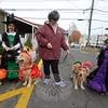 Sandy Hook Organization for Prosperity (SHOP) hosted its fifth annual Halloween Walk in Sandy Hook Village October 24, welcoming little trick-or-treaters who got to meet several Newtown Strong therapy dogs, including Tiamo and handler Ann Marie Cioff (not pictured), and Brinkley with his handler Marianne Huniyack. (Voket photo)