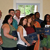 Recipients of the Honor With Action Awards/Certificates of Recognition from Sen Blumenthal are from left, Gilles Rousseau, Donna Dees-Thomases, Tom Sullivan, Donna Soto, Matthew Soto, Tom Campbell, Jillian Soto, Abbey Clements, September Chatfield, Tyrek Marquez, Marie Delus, and Warren Hardy, Jr. (Crevier photo)