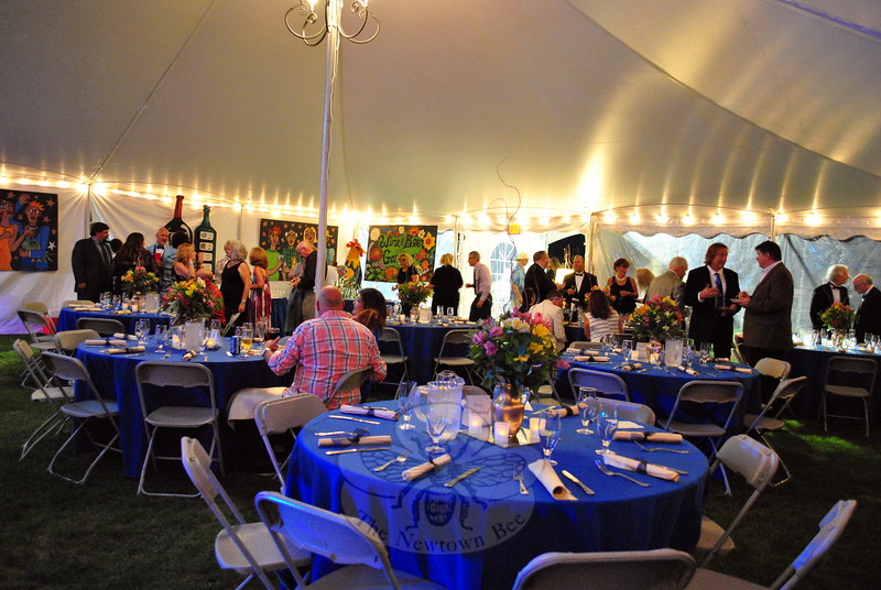 Guests arrived for the Rooster Ball, hosted on Friday, September 19. (Hallabeck photo)