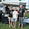 The 2015 Newtown Arts Festival was held on Saturday, September 20, and Sunday, September 21. The Newtown Orchestra tent offered a number of items for purchase. (Hallabeck photo)