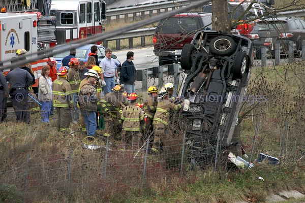 Wreck on I-81 near Buchanan 20071215