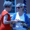 "Retiring Newtown Middle School Principal Diane Sherlock, left, thanked NMS PTA President Jennifer Scarangella for her time serving the school during the NMS Awards Ceremony held on Thursday, June 20.   (Hallabeck photo)<br /> <br /> PLEASE NOTE: Additional photos from this event, which were presented online in a slideshow, can be viewed here:<br />  <a href=""http://photos.newtownbee.com/Journalism/Special-Events/Newtown-Middle-School-Awards/30242339_Kst7kk#!i=2603130294&k=FgL58xS"">http://photos.newtownbee.com/Journalism/Special-Events/Newtown-Middle-School-Awards/30242339_Kst7kk#!i=2603130294&k=FgL58xS</a>"