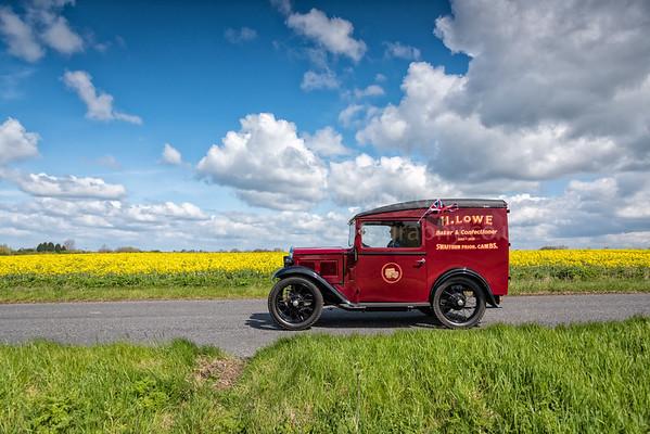 Yesteryear Vintage Car Rally, Cambridgeshire UK