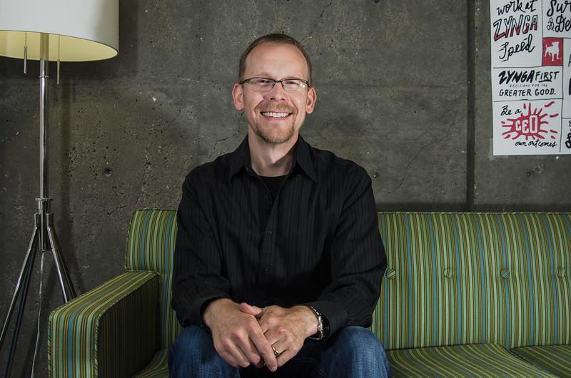 Nate Etter, Zynga's Vice President of Games