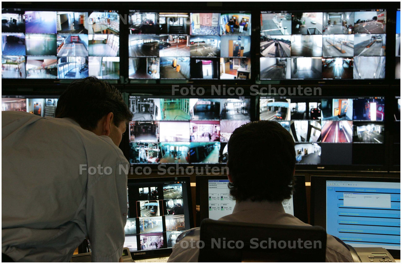 AD/HC - Camerabewaking Stadshart bij Zoetermeers bedrijf VDG - ZOETERMEER 30 JUNI 2008 - FOTO NICO SCHOUTEN