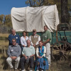 Standing l-r: Larry Elcock, PacifiCorp; Aimee Davison, Shell; Sam Drucker, BLM, Sublette Cnty Hist Soc, Wy Archaeological Society; Chris Nelson, PacifiCorp; Sitting l-r: John Huston, BLM; Tom Rea, Alliance for Historic Wyoming and OCTA; Lesley Wischmann, Alliance for Historic Wyoming