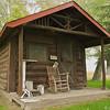 Old cabin, Ucross Foundation