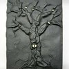 Black leather eyetree journal