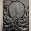 Large leather Octopus journal cover