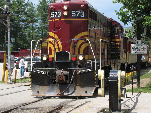 Conway Scenic Railroad, North Conway, New Hampshire