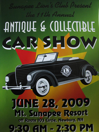 Mt Sunapee Resort Car Show - Newbury, NH