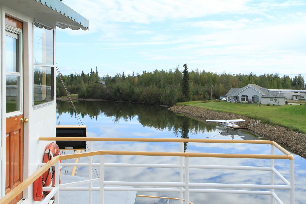 Modern day Alaska home in Fairbanks