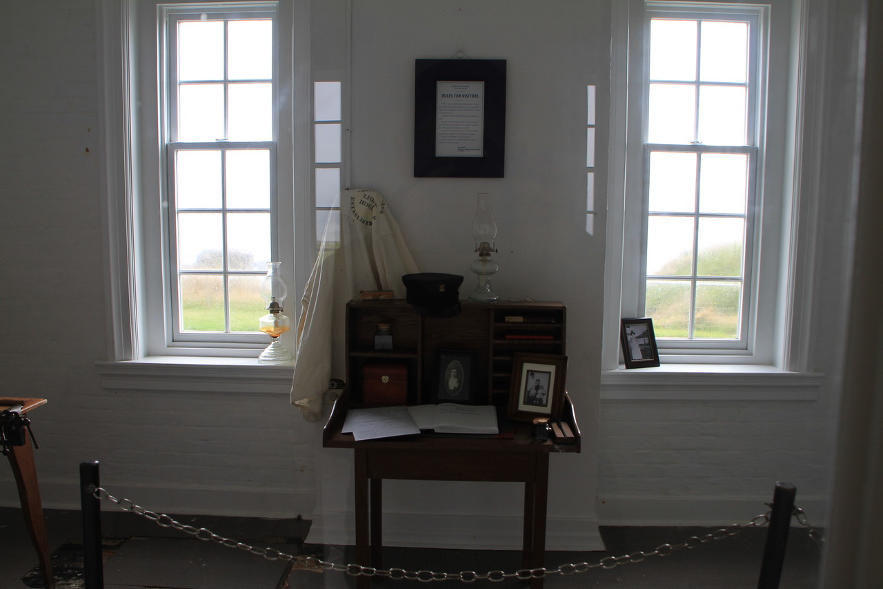 Lighthouse keepers office.