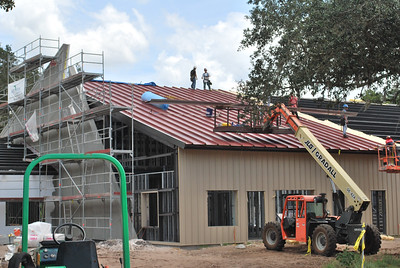 Steel roof going on!  See you in 80 years to replace it?