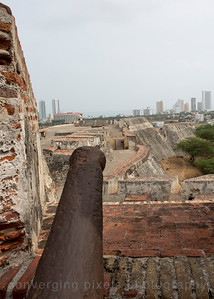 View of the skyscrapers from the Old Fortress.