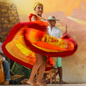 Folkloric Show at the historic Heredia Theater.