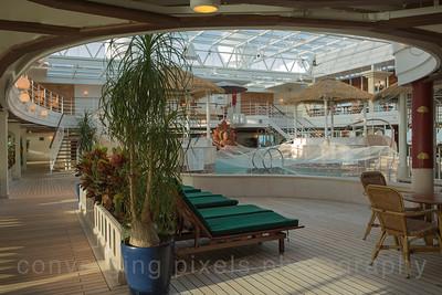 The Lotus Spa and Pool.