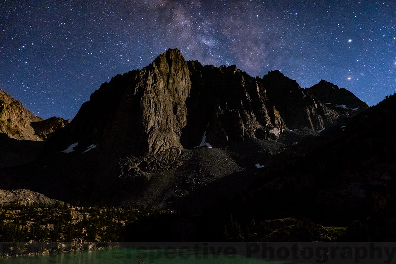 Night at Temple Crag
