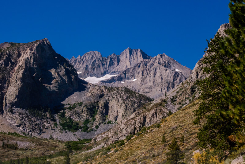Middle Palisade Peak and Glacier