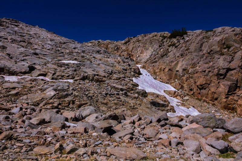 Mountain Scene along Glacier Trail