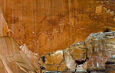 Petroglyphs Capitol Reef NP UT_9790