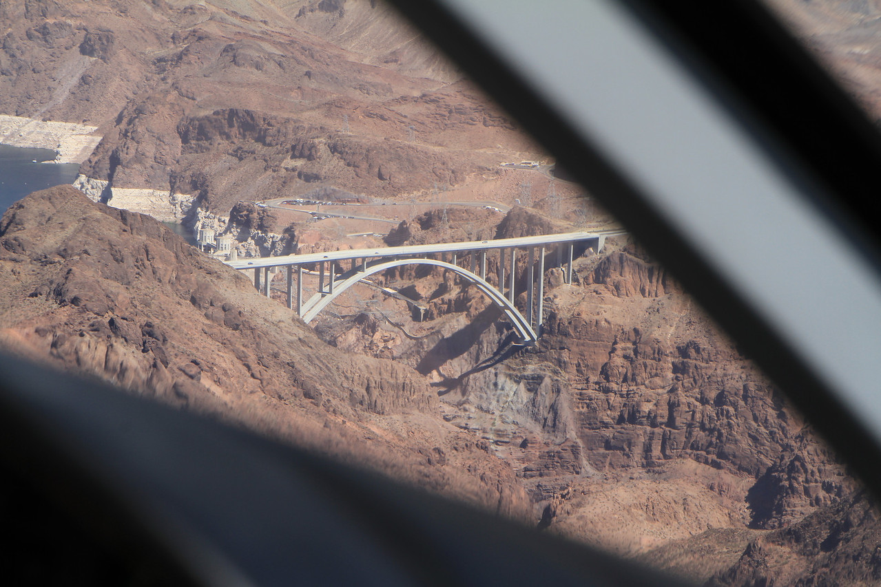 Approaching the Hoover Dam