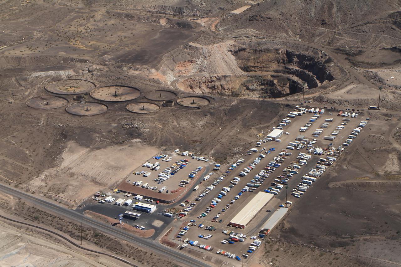Mining outside Las Vegas