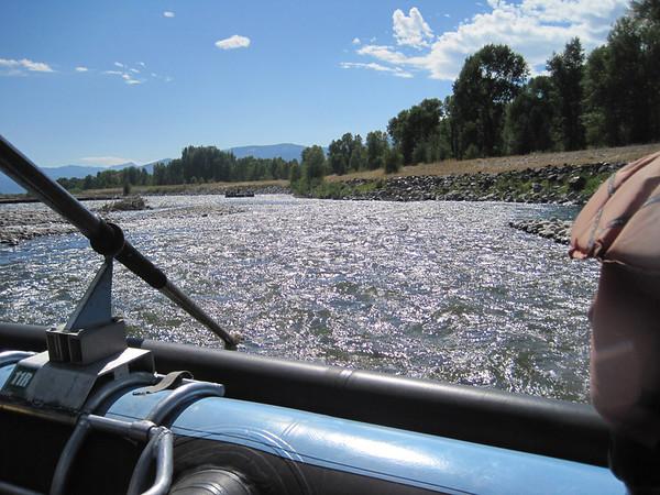 Grand Teton, Snake River Raft trip