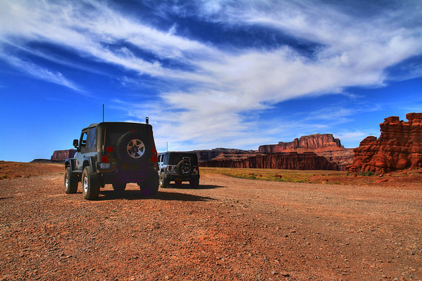 Moab, Utah - Shafer & Long Canyon Off-road Trails