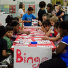 Students play bingo during the conclusion of the Fitchburg Public Schools' Journeys Summer Camp at Crocker Elementary School on Wednesday, July 26, 2017. SENTINEL & ENTERPRISE / Ashley Green