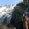 Falls below Martin Lake