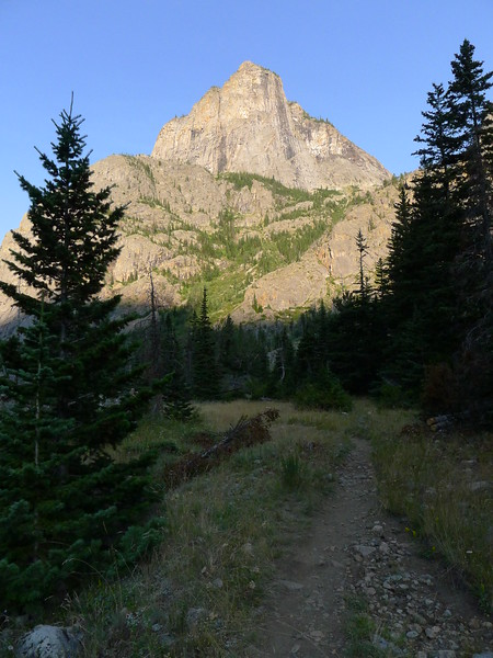Day 2.  Trail on the way to Rimrock Lake