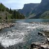 Inlet stream at Lake at the Falls
