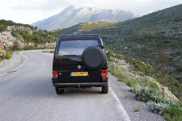 Molai Kyparissi road