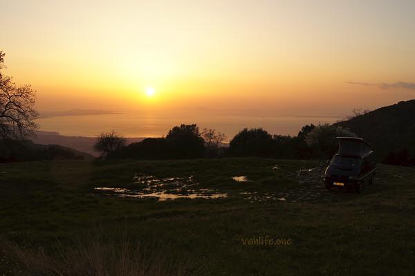 Campspot sunset