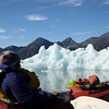 Kayaking with icebergs!