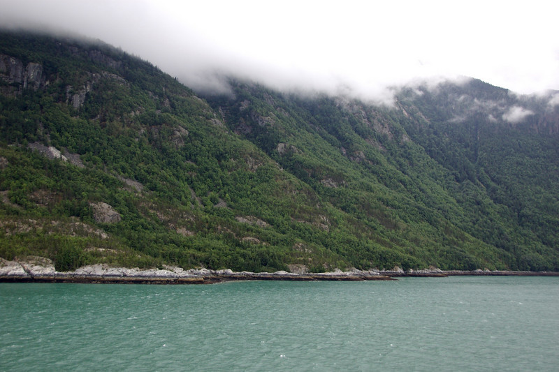 Entering Skagway early in the morning.