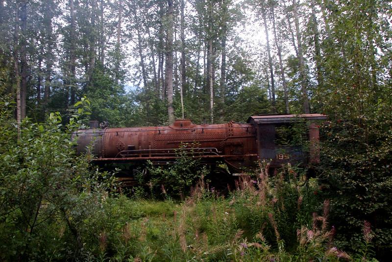 Old, abandoned engine.