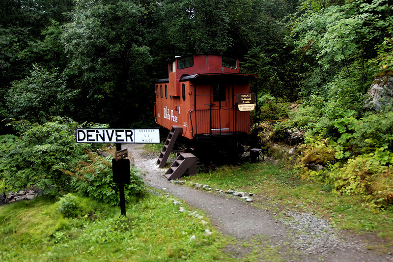 Train stop for the Denver Glacier.