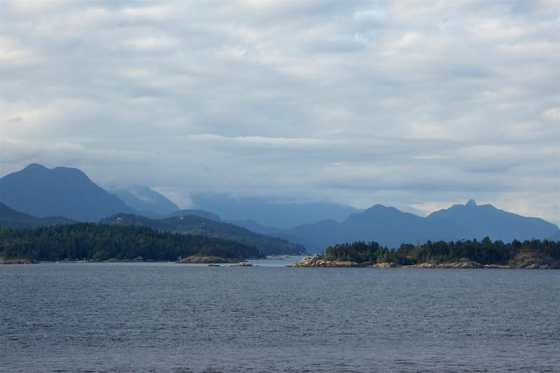 Last views of Canada