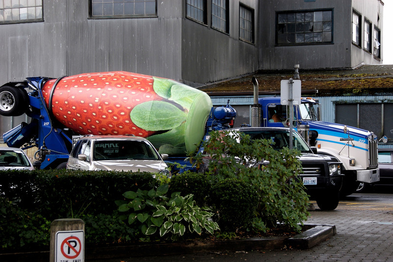 That's one heck of a cement mixer. I think.