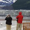 Karen and Jim watching Randall Glacier.