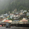 Ketchikan in the mist